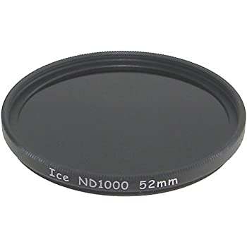 ICE 52mm ND1000 Filter Neutral Density ND 1000 52 10 Stop Optical Glass