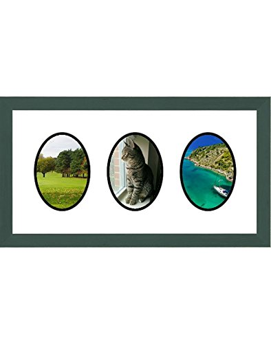 (Frames by Mail Triple Oval Opening Collage Frame for 3.5
