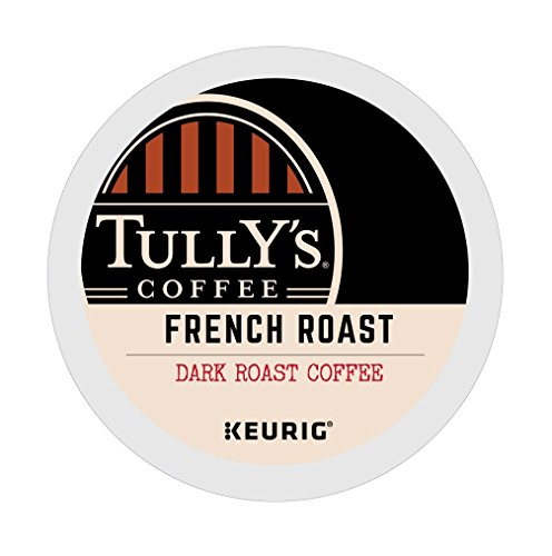 Tully's French Roast Extra Bold Coffee Keurig K-Cups (144 Count) by Tully's