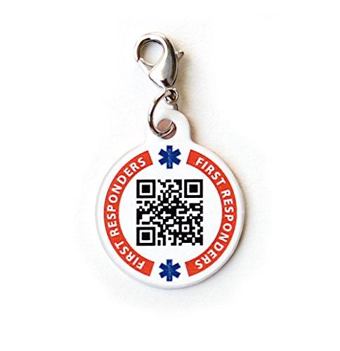 Dynotag Enabled Emergency Information Bracelet