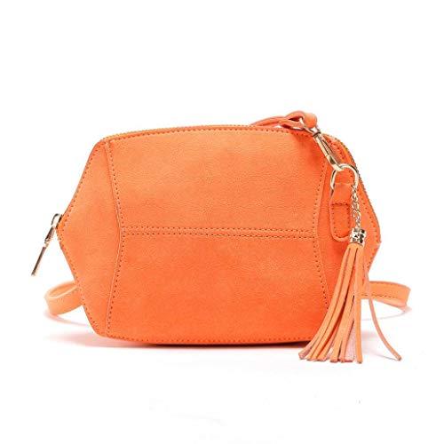 à Sac en Hobo Sac en main Sacs Sac Tassel bandoulière Orange à à pour décontracté femme cuir Zhrui bandoulière Travel main Fq6dCwF