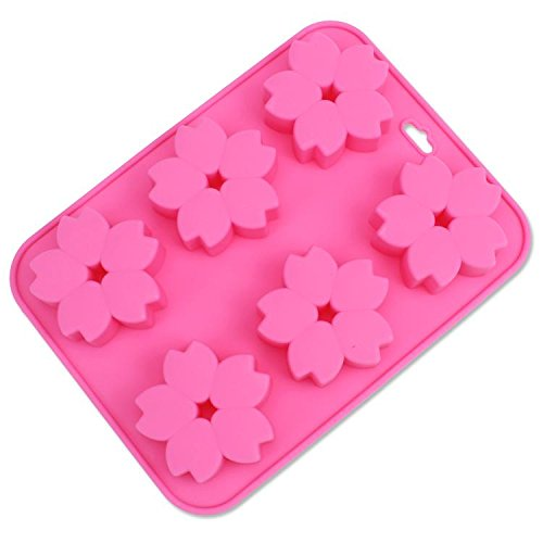 WWQY Silicone cake mold 6 with six holes cherry oven baki...