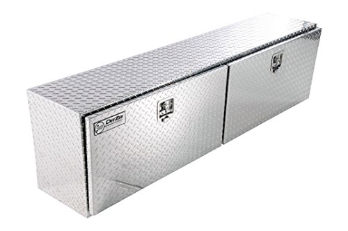 Side Box Top Tool - Dee Zee DZ79 Brite-Tread Aluminum Topsider Tool Box