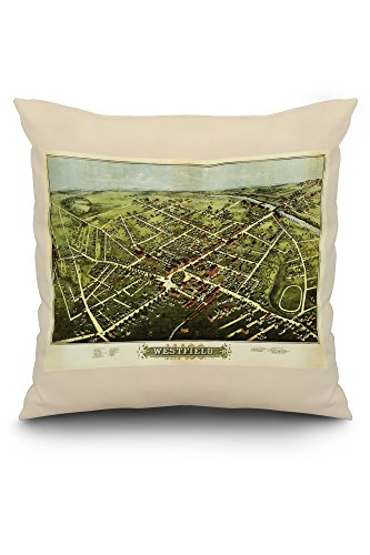westfield-massachusetts-panoramic-map-20x20-spun-polyester-pillow-white-border