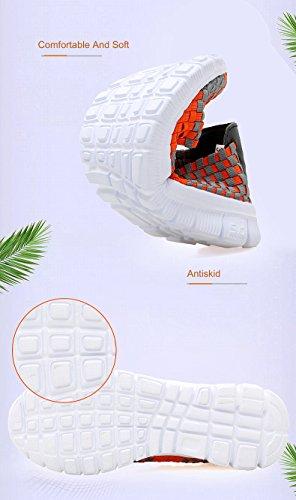 075 Orange Mujer para Zapatillas FZDX UqgBFF
