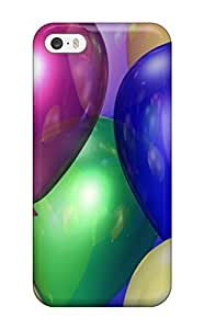 New Style Case Cover ExzozmW2553gAJoC Happy Birthday Colored Balloons Compatible With Iphone 5/5s Protection Case
