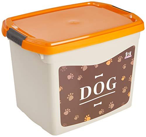 Organizador Plástico Dog Médio 11L Sanremo para Cães, Amarelo