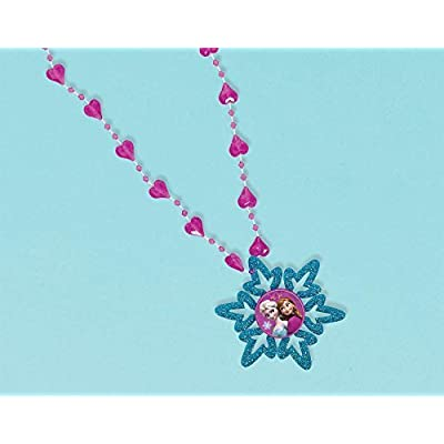 Snowflake Necklace | Disney Frozen Collection | Party Accessory: Toys & Games