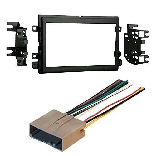 Ford 2007-2010 Edge CAR CD Stereo Receiver Dash Install MOUNTING KIT Wire Harness