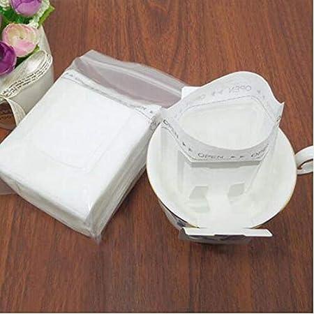 Amazon.com: 50Pcs/Pack Drip Coffee Filter Bag Portable ...