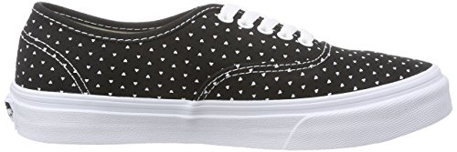 Unisex Sneakers Micro Hearts White micro Slim true Black U Nero Vans Authentic nUqXHWY