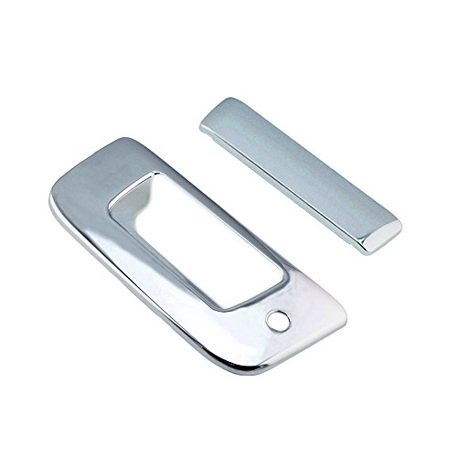 SEGADEN Chrome Plated Tail Gate Handle Cover fit for 2007-2013 CHEVROLET Silverado GMC Sierra ( With Keyhole No Camera hole ) XG7656