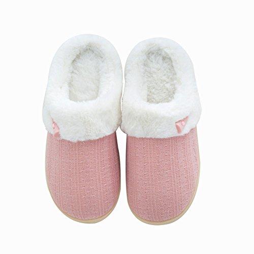NiNE CiF Women's Fuzzy Winter Slippers Outdoor House Slippers