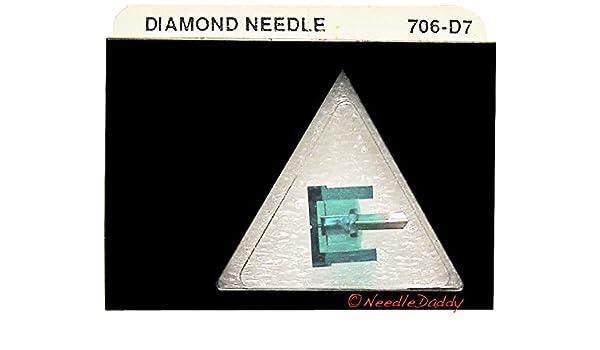 NEEDLE STYLUS for PANASONIC TECHNICS EPS52 EPS270 EPS290 EPS53 EPS79 706-D7