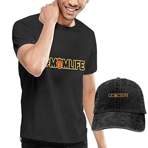 MF SFLK Basketball Mom Life Men's Short Sleeve T-Shirts & Baseball Caps Hats