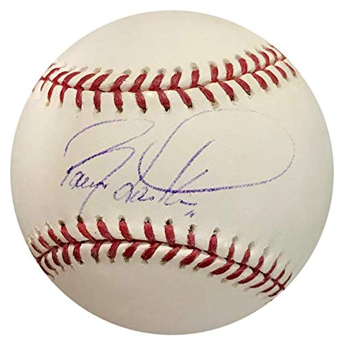 Barry Larkin Autographed Official Major League Baseball