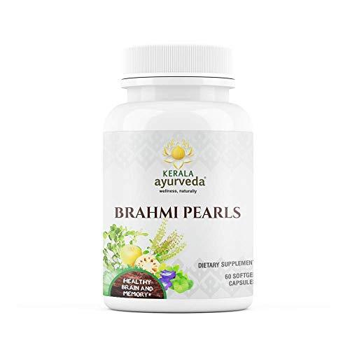 Kerala Ayurveda Brahmi Pearls – Bacopa – Ayurvedic Herb for Brain Support & Mental Alertness,Travel Friendly & Hassle…