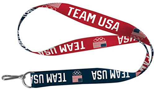 Lanyard Usa - Wincraft Olympics USOC Team USA Lanyard Key Chain, 20