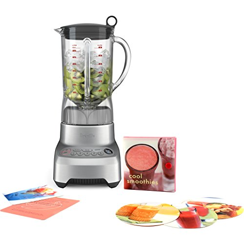 9. Breville Hemisphere Control Blender with Free Smoothie Recipe Book