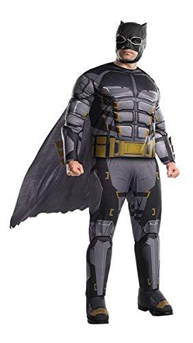 Rubie's Men's Tactical Batman Adult Deluxe Costume, Multicolor, Plus
