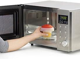 Lékué - Cocedor de Huevos, 0.1 litros, Silicona, Transparente ...