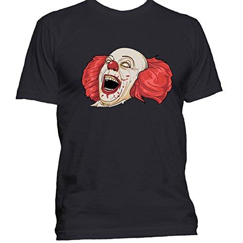 Evil Clown Creepy Halloween T Shirt Costume Funny Gift For Nerd Joker T-Shirt