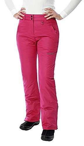 SKI GEAR WOMEN'S 1800 THERMATECH INSULATED SNOW PANT ORCHID FUCHSIA X Small