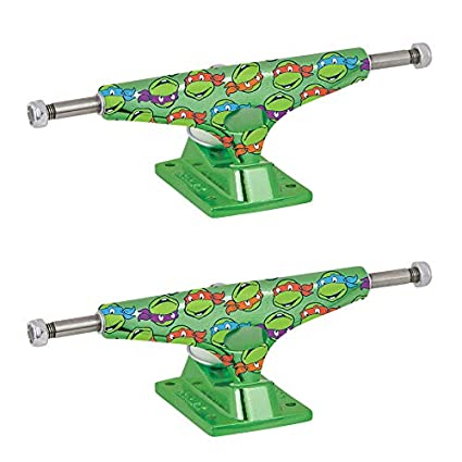 Amazon.com : Krux Skateboard Trucks Krome Teenage Mutant ...