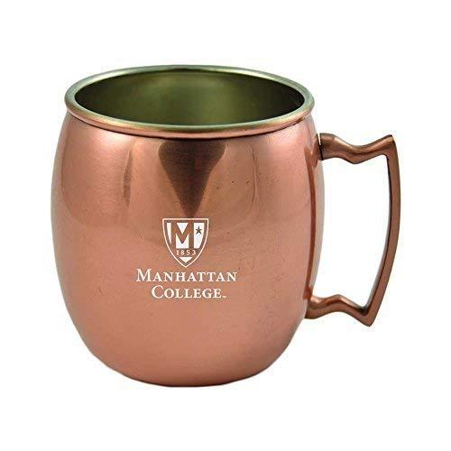 Manhattan college-16オンス銅マグ   B01JH9DSEY