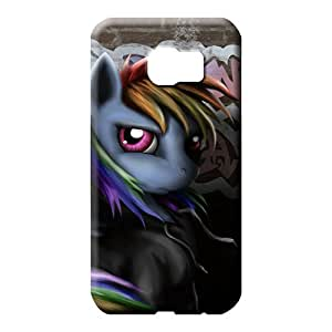samsung galaxy s6 Protection High-definition Awesome Look phone carrying covers rainbow dash grafiti