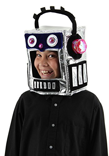 Robot Child Costume (elope Kid's Robotman Hat)