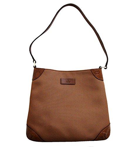 Gucci Brown Hobo Shoulder Bag Guccissima Leather Bag 248272 (Gucci Hobo Purse)