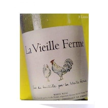 La Vielle Ferme Blanc, 3 Liters: Amazon.com: Grocery ...