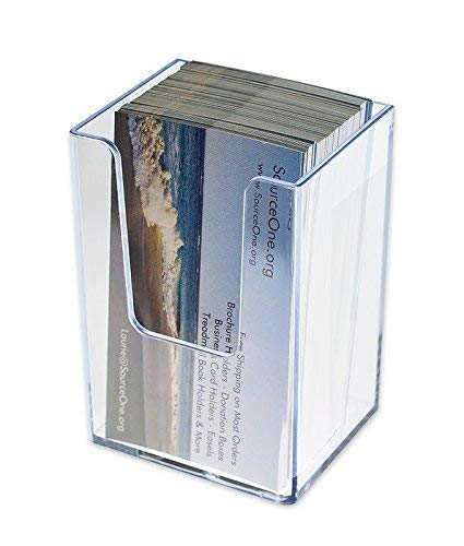 Amazon sourceone vertical business card holder clear 10 pack sourceone vertical business card holder clear 10 pack colourmoves