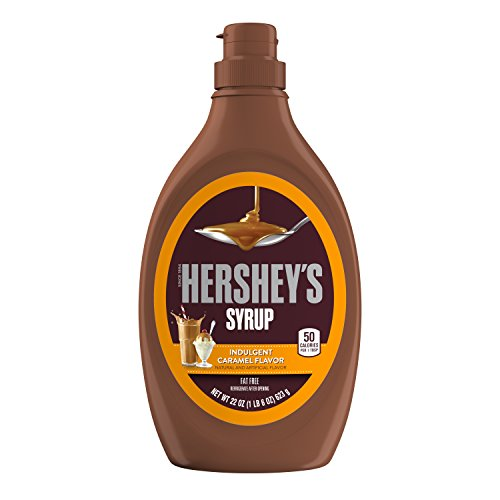 HERSHEY'S Caramel Syrup, 22 Ounce