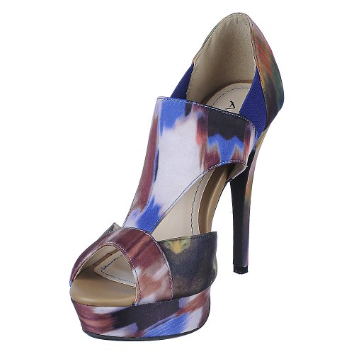 Anne Michelle Womens Assasin-75 Dress High Heel - Multi Color Size (Anne Michelle Pumps)