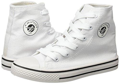 Kripton Sneaker West Haute Blanc-Taille 40
