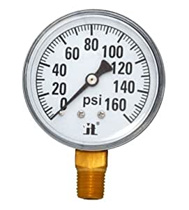 Zenport DPG160 Zen-Tek Dry Air Pressure Gauge, 160 PSI, Box of 10 Style: 160 PSI Size: Pack of 10 Outdoor, Home, Garden, Supply, Maintenance