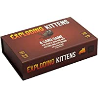Exploding Kittens Exploding Kittens First Edition Meow Box Party Card Games