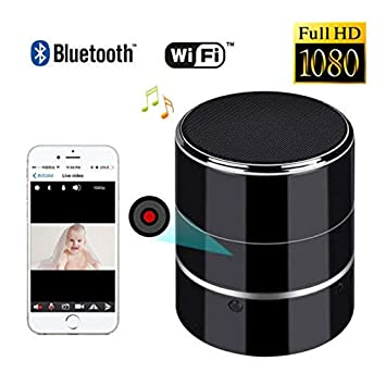 180° Rotate WIFI 1080P SPY HD Hidden Camera Speaker Wireless Video Recorder Cam