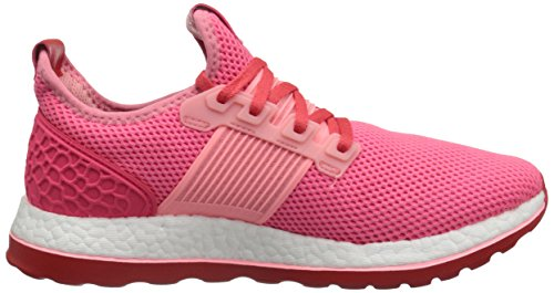 Adidas Performance Heren Pureboost Zg Hardloopschoen Ray Pink / Wit / Shock Red