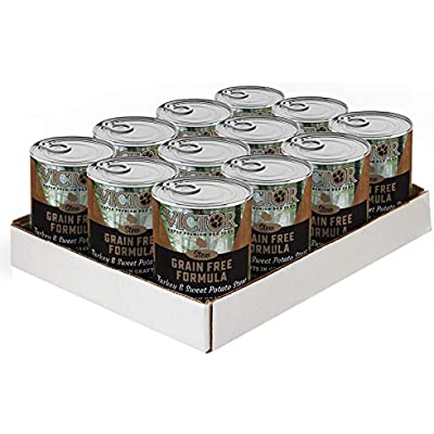 Victor Grain Free Turkey & Sweet Potato Stew Dog Food - Canned, 12/13.2 Oz. Cans