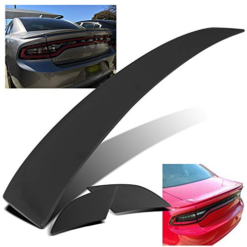 Modifystreet For 11-18 Dodge Charger 3PC Factory Style Flush Mount Rear Trunk Spoiler Wing