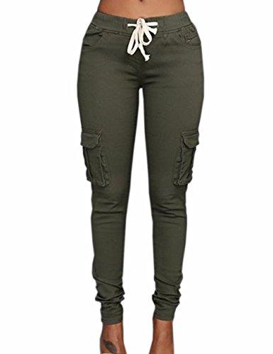 Emma Militaire Jeans Vert Militaire Jeans Emma Vert Femme Femme EO4qZnF