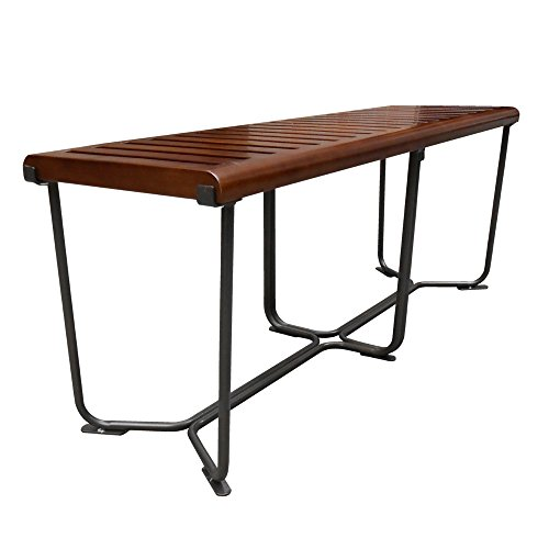 Modern Contemporary Bench, Brown, Wood (Cb2 Bench Dining)