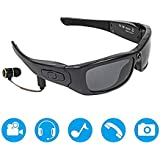 Sports Cycling Sunglasses Bluetooth Sunglasses Lightweight Design Smart One-button Multifunction With Wireless Stereo MP3 Headphones Polarized Glasses Outdoor Activities for Running Golf Fishing Hikin