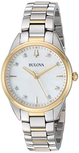 Women's Sutton -  Two-Tone Yellow One Size - Bulova 98P184
