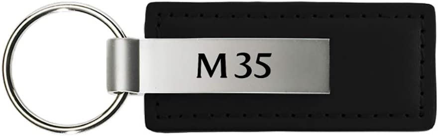 Infiniti M35 Black Leather Key Chain Official Licensed