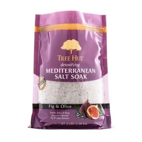 Tree Hut Detoxifying Mediterranean Epsom Salt Soak Fig & Olive (Pack of 2)