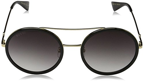 8408c051f8 Gucci GG0061S 001 Gold 0061S Round Sunglasses Lens Category 3 Size 56mm